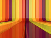Abstract colorful lines background — Stock Photo