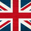 United Kingdom flag background — Stock Photo