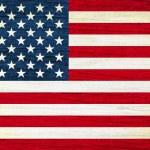 North American USA flag — Stock Photo