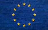 Flagga europa — Stockfoto