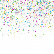 Stock Photo: Festive background of confetti