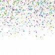 Festive background of confetti - 图库照片
