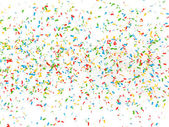 Festive background of confetti — Stock Photo