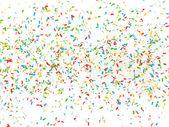 Festive background of confetti — Stock Photo