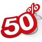 Percent sticker — Stock Photo #9826344