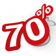 Percent sticker — Stock Photo #9826361