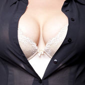 Big Breasts — Stock Photo