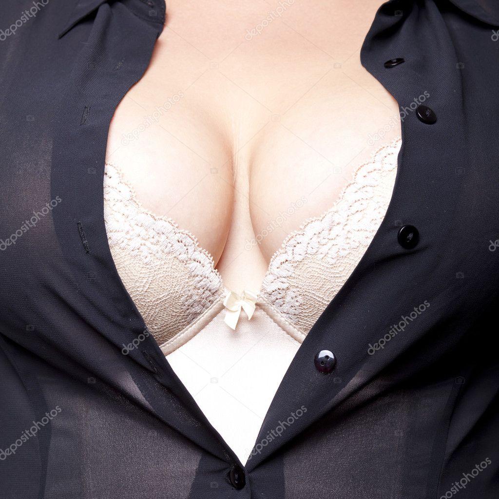 Фото женской груди в белье 9 фотография