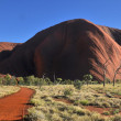Stock Photo: Red Rock