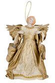 Estátua de anjo papel — Fotografia Stock