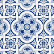 Portuguese glazed tiles — Stock Photo #8408001