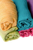 Colorful scarves — Stock Photo