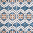 Blue and brown pattern — Stock Photo