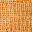 Yellow wool texture — Stock Photo
