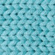 Blue knitted wool — Stock Photo #8713865