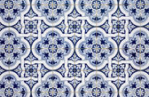Blue pattern detail — Stock Photo