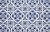 Blue pattern detail — Stock Photo