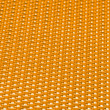 Stock Photo: Yellow metal mesh plating