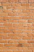 Mur z cegły pomarańczowy — Zdjęcie stockowe