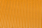 Yellow metal mesh plating — Stock Photo