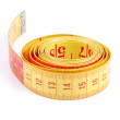 Tailor measuring tape — Stock Photo