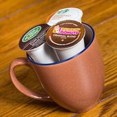 K-Cup Coffee Pods — Stock Photo