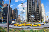Columbus circle and Trump Tower NYC — Stock Photo