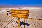 Badwater Death Valley — Stock Photo