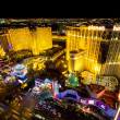 Las Vegas at Night - Stock Photo