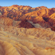 Canyon Sunrise Death Valley — Stock Photo