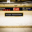 Penn Station Subway NYC — Foto Stock