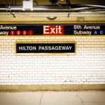 Penn Station Subway NYC — Stock Photo