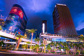 Vegas strip's nachts — Stockfoto