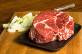 Beef Chuck Roast — Stock Photo