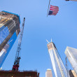 Rebuilding Ground Zero NYC — Stock Photo