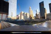 Setembro de nyc. 11 memorial — Foto Stock