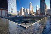 NYC Sept. 11th Memorial — 图库照片