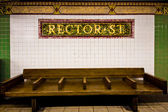 NYC Subway Station — Stock Photo