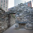 Stock Photo: Irish Hunger Memorial NYC