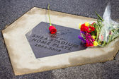 Gary Carter Memorial Citifield — Stock Photo