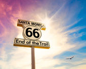 Route 66 — Stock fotografie
