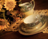 China Tea Set — Stock Photo