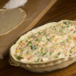 Stock Photo: chicken pot pie