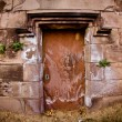 Stock Photo: Crypt Door
