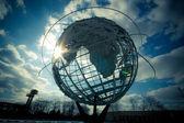 1964 NYC World's Fair relic, Unisphere — Stock Photo