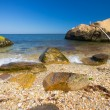 Royalty-Free Stock Photo: Boulders by Sea
