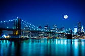 NYC Brooklyn Bridge — Stock Photo