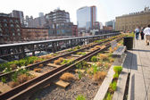 NYC's High Line Park — Stock Photo