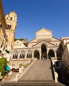 Kościół amalfi — Zdjęcie stockowe