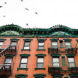 NYC tenement apartment — Stock Photo